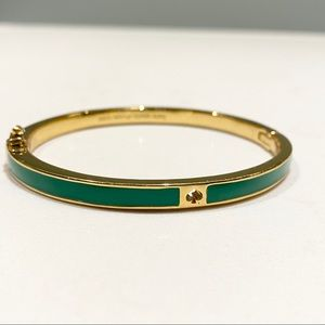 Kate Spade Bangle in Enamel and Gold